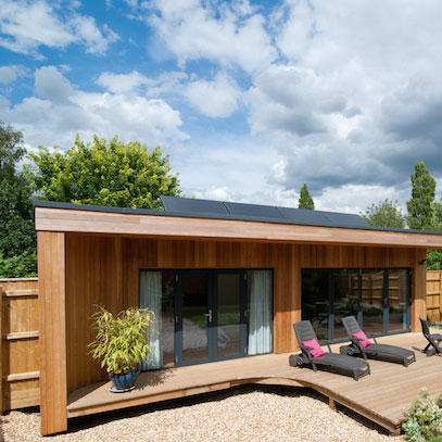 Bespoke Luxury Garden Rooms Ipswich UK outdoor studios